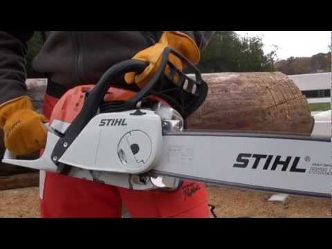 Stihl MS 194 T Chainsaw in Bingen, Washington - Video 2