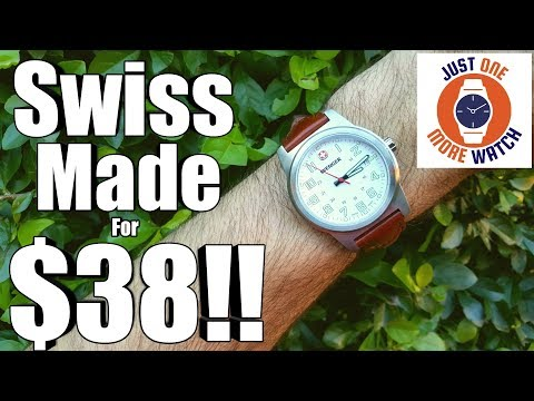 """Swiss Made"" For Under $40? Ridiculous Value!"