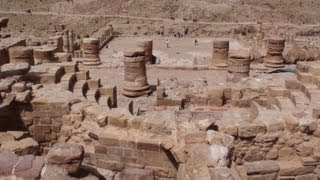 preview picture of video 'The Great Temple of Petra - Jordan'