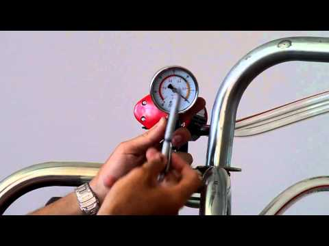 Turbocompresor pentru tensiometrul