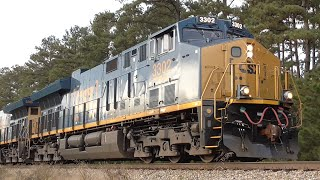 [1c] New CSX Tier 4 Units and Why the Police Stopped Q194, Carlton - Athens GA, 11/15/2015 ©mbmars01