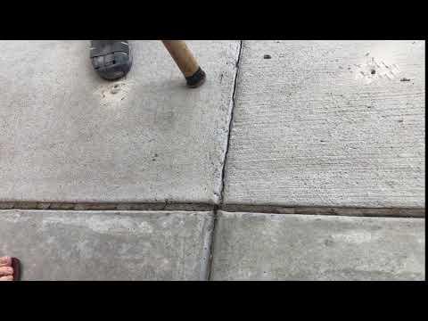 Concrete Lifting - Detecting Voids