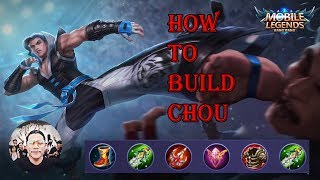 [Epic Game] Mobile LegnedHow To Build Chou Fighter --   SZ Gamer Uknow SZ Chou Game Play