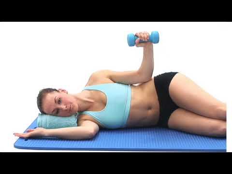 Shoulder External Rotation (side lying, dumbbell)