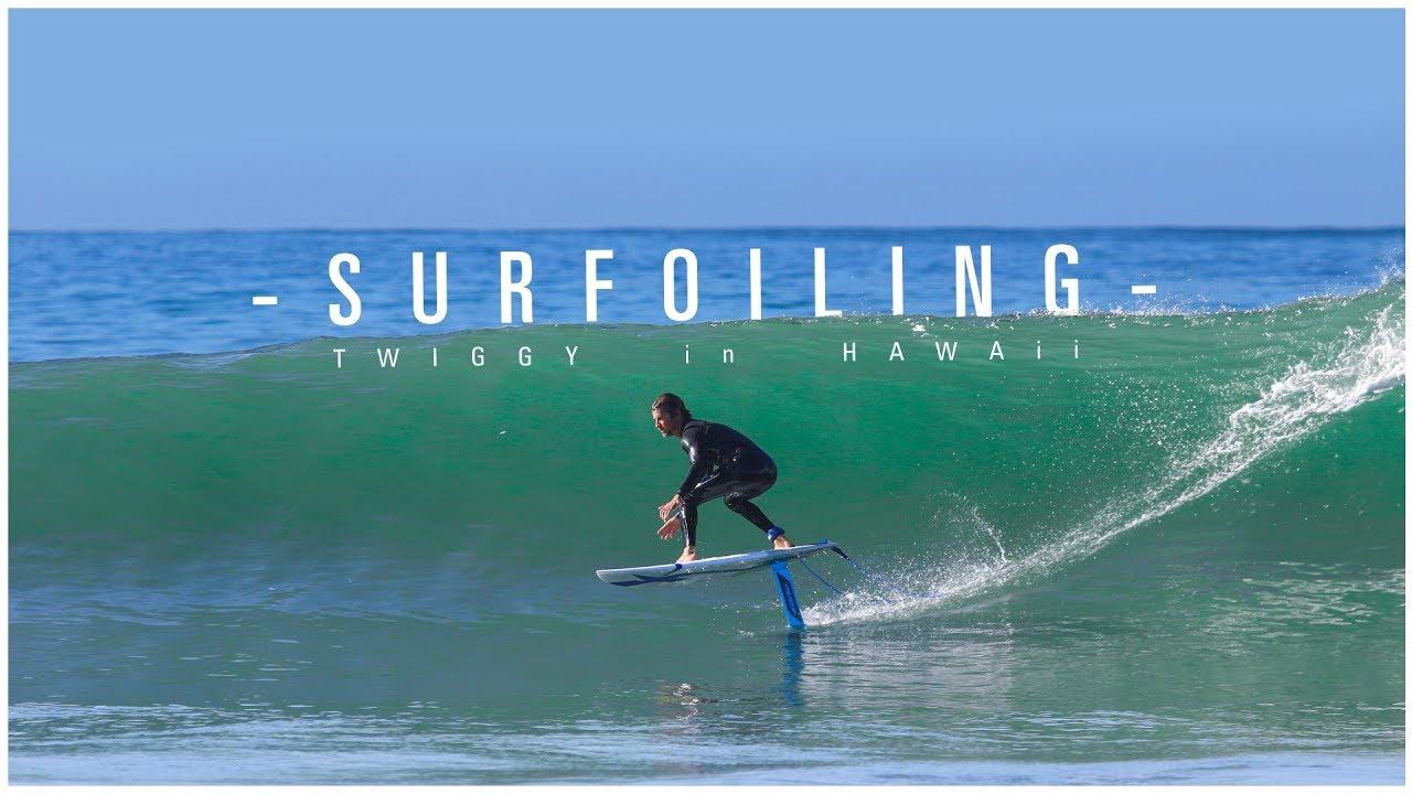 Surf Foil - Twiggy in Hawaï