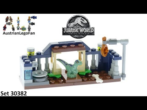Vidéo LEGO Jurassic World 30382 : Baby Velociraptor Playpen (Polybag)