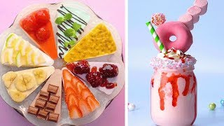 Most Satisfying Colorful Cake Decorating Ideas | So Easy Cake Decorating Compilation | Tasty Plus