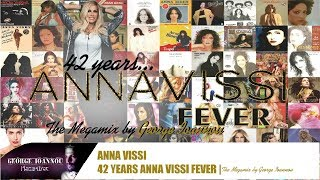 Anna Vissi - 42 Years VISSI Fever | The Megamix 1973 - 2015 [NON STOP]
