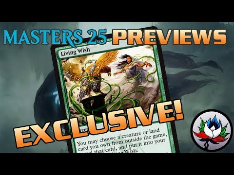 Exclusive Masters 25 Preview Card for Magic: The Gathering – MTG!