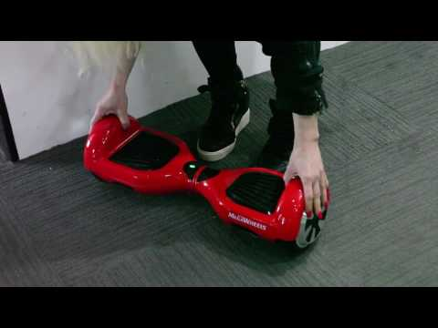 Hoverboard Unboxing & Review – Megawheels TW01s Hoverboard