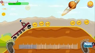 Hill Racing Monster Truck Climb, Racing Games, Super Offroad, Driving Games, For Children / Android
