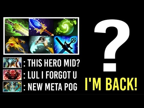 90% of Players Can't Guess This Imba Hero Mid Crazy Comeback Gameplay by Timado WTF Dota 2