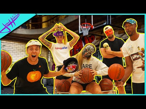 TRICKshot or TREAT! (Halloween Basketball Battle)