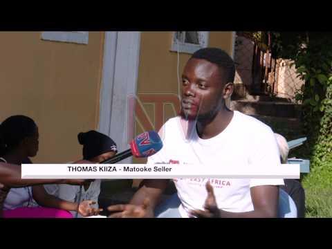 University student sells packed matooke to raise tuition