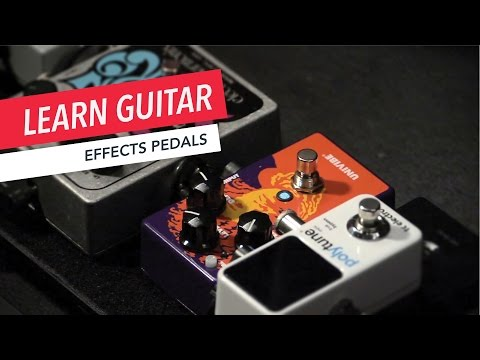 Beginner Guitar Lessons: What Are the Most Important Effects Pedals? | Guitar | Lesson | Beginner