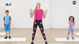 10-Minute Family Fun Cardio Exercise Workout