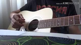 Любэ-Ты неси меня река на двенадцатиструнной гитаре