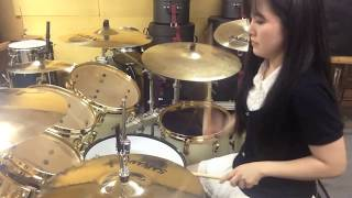 "ARCH ENEMY ""Revolution Begins"" Drum cover by Fumie Abe"