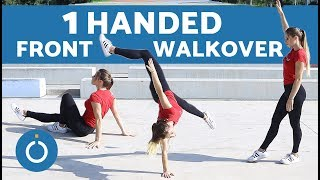 One Handed Front Walkover – Step by Step Tutorial