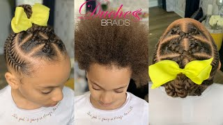 How To: Simple Kids Braid Styles