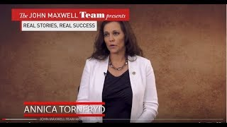 Annica Törneryd interviewed by The John Maxwell Team
