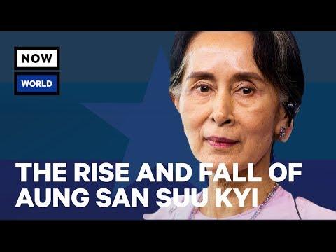 Vzestup a pád Aun Schan Su Ťij