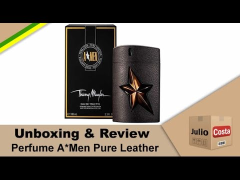 Unboxing e Review – Perfume Pure Leather (Les Parfums de Cuir) by Thierry Mugler