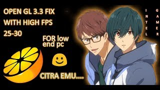 how to fix opengl 3-3 error on citra nintendo 3ds emulator - TH-Clip