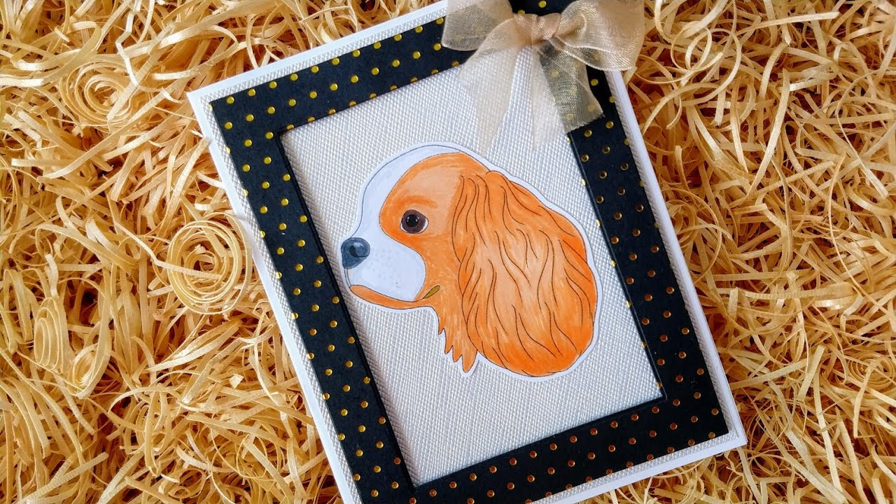 Colouring King Charles Cavalier
