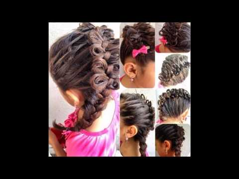 Diagonal Bow Braid Hairstyle (видео)