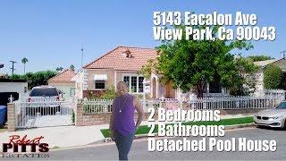 5143 Escalon Ave, View Park 90043