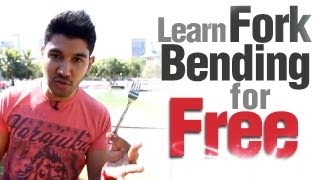 Cool Magic Trick Revealed! Learn Fork Bending For FREE!