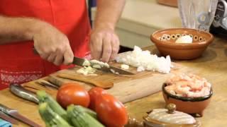 Tu cocina - Calabacitas rellenas de camarón