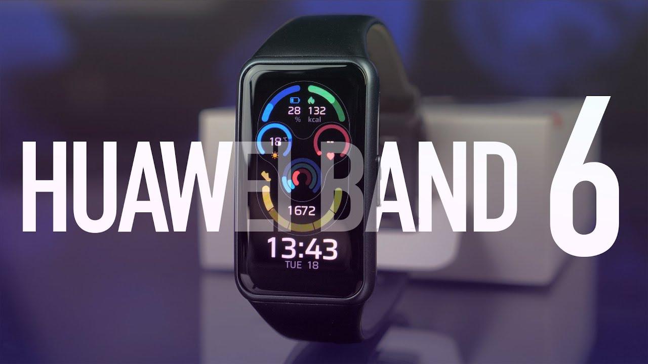 Смарт-часы Huawei Watch Band 6 (Graphite Black) 55026629 video preview