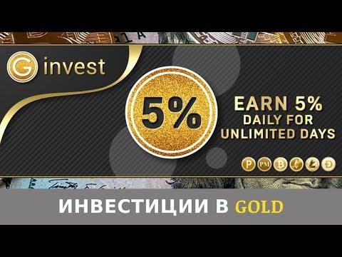 GINVEST LIMITED GINVEST.CC отзывы 2019, обзор, инвестиции, доход 5% ежедневно