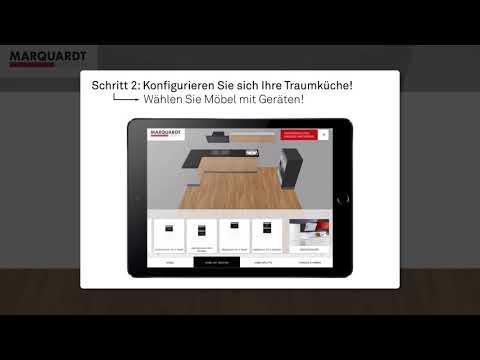 Erklärvideo: Küchenplaner App (Andorid + iOS) für das Smartphone von Marquardt Küchen!