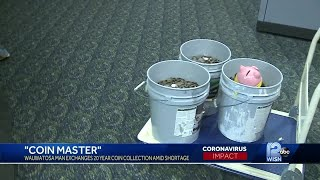 'Coin master' turns in 20-year coin collection