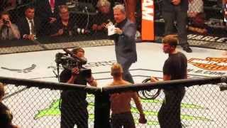 Bruce Buffer full introduction UFC Dillishaw vs Barao 2 @United Center Chicago 7/25/15
