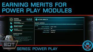 Earning Merits to Unlock Power Play Modules