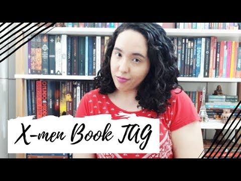 X-men Book TAG (Original) | Um Livro e Só
