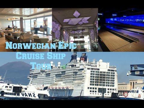 NORWEGIAN EPIC CRUISE SHIP & STATEROOM TOUR 2017