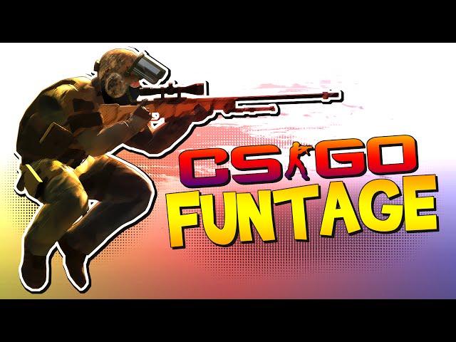 CS:GO FUNTAGE! - Surfer Dude, Grenades & More!