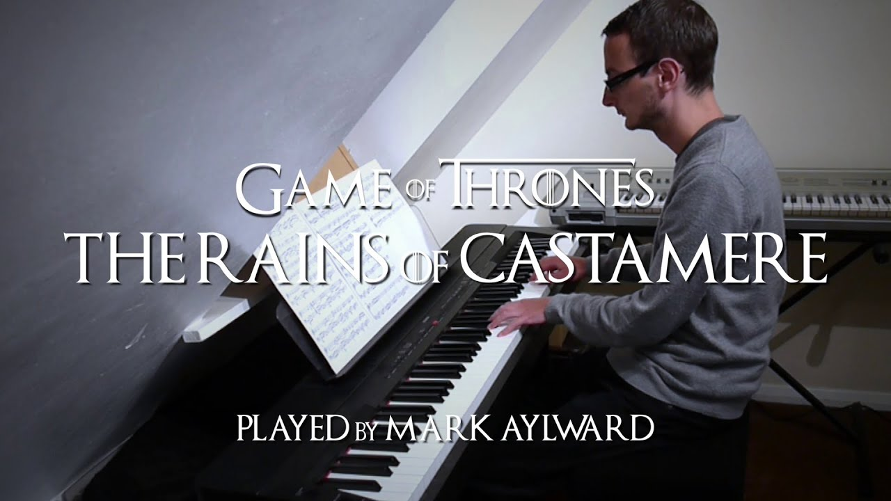 Game of Thrones - The Rains of Castamere (Piano Cover) - YouTube