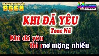 karaoke-khi-da-yeu-nhac-song-tone-nu-nhac-truoc-1975-beat-keyboard-long-an