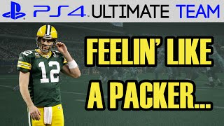 I FEEL LIKE A PACKER!  - Madden 15 Ultimate Team Gameplay | MUT 15 PS4 Gameplay