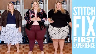 My Stitch Fix Plus Size First Experience