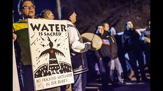 Video: Seneca Nation Rallies To Defend River From Fracking Wastewater