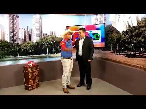 Salles Locutor VT Feirao Bernardo Sayão , Tv Goiânia Band