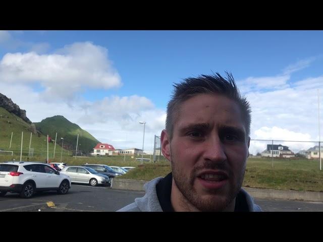 Halldór: Geggjað að verja víti og ná í þetta stig