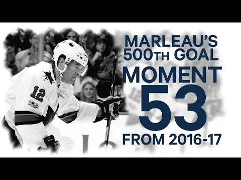 No. 53/100: Marleau hits 500